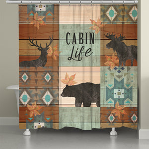CabinLife Shower Curtain