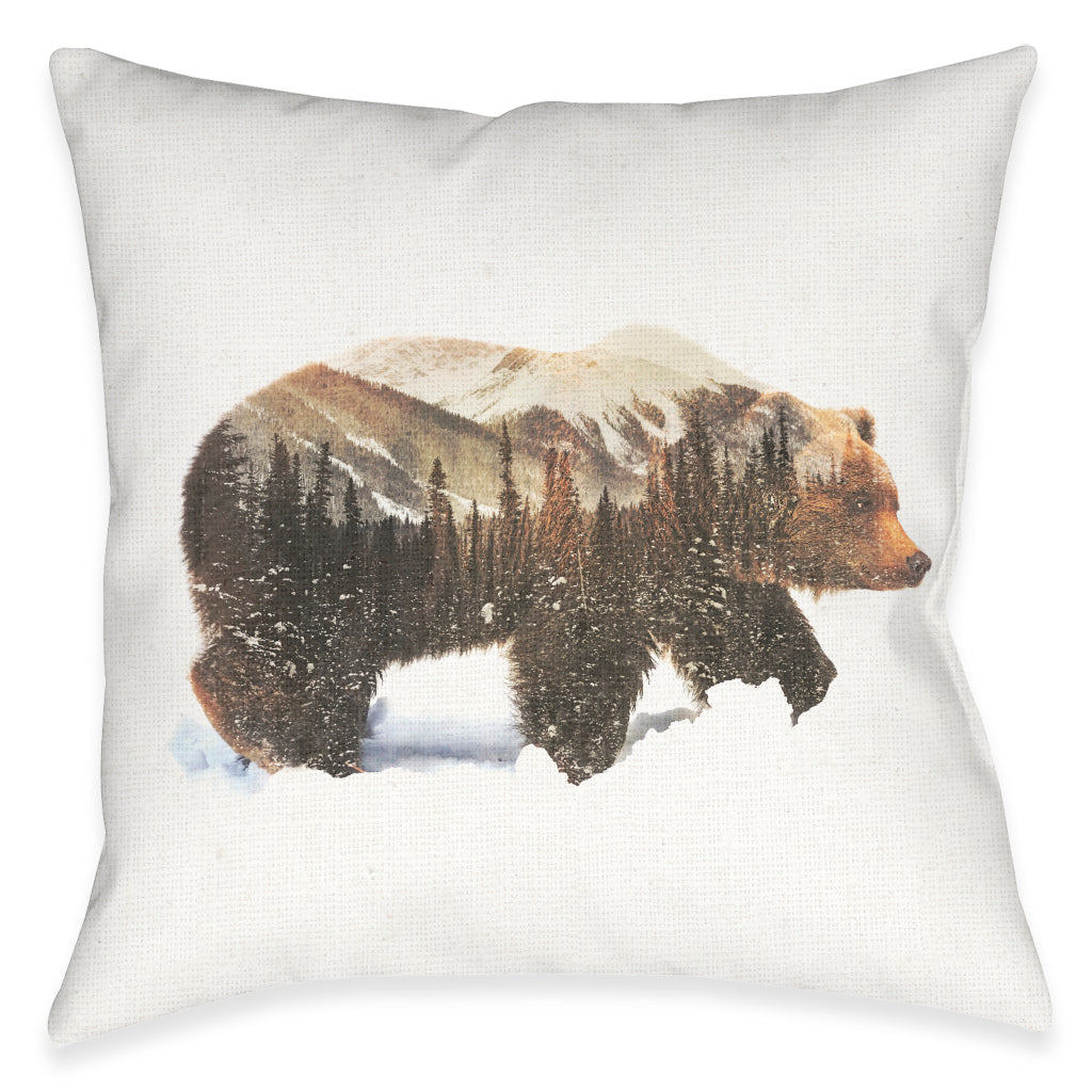Call of The Wild Outdoor Decorative Pillow