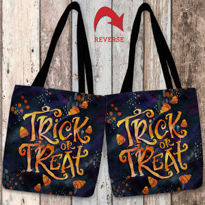 Candy Corn Treat Tote Bag