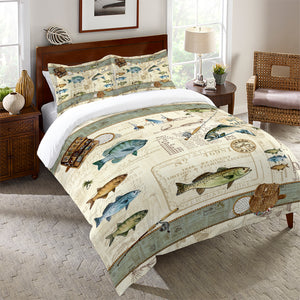 Catch of the Day Comforter
