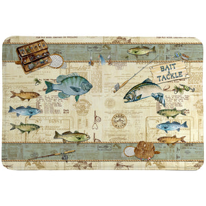 Catch of the Day Memory Foam Rug