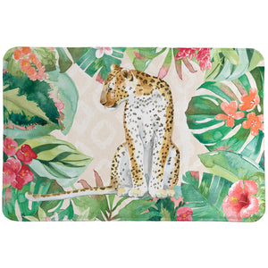 Cheetah in the Jungle Memory Foam Rug