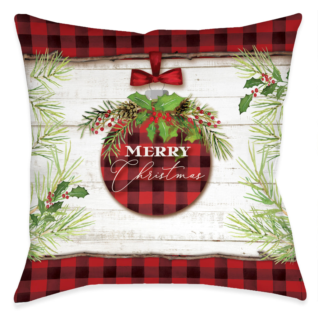 Christmas Ornament Indoor Decorative Pillow