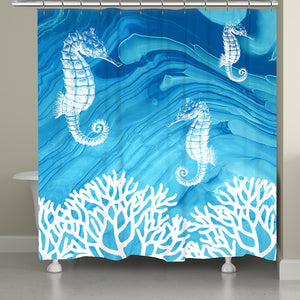 Coastal Inspiration Shower Curtain