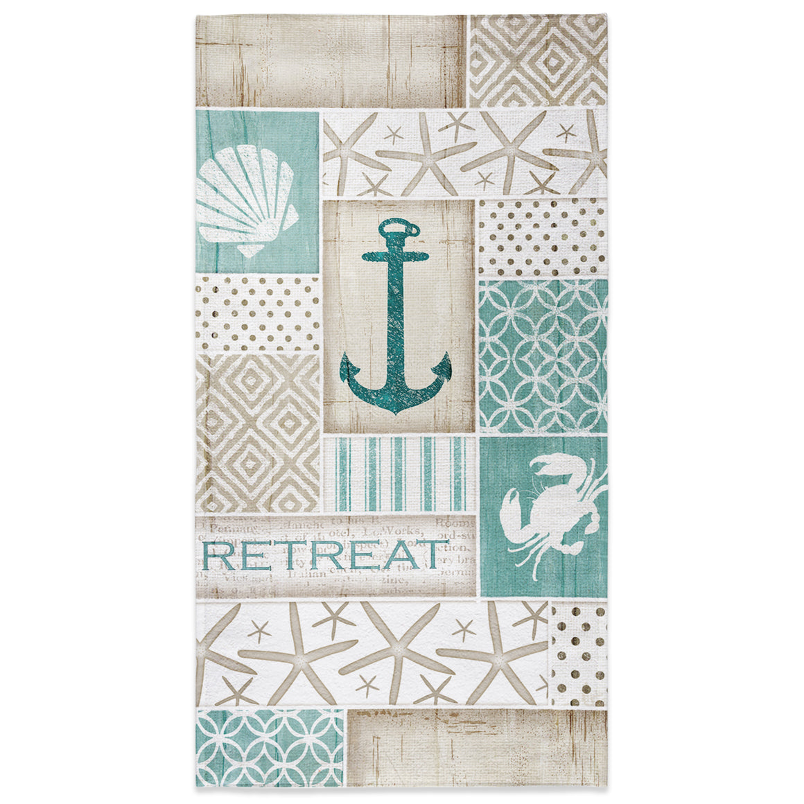 Coastal Retreat Beach Towel
