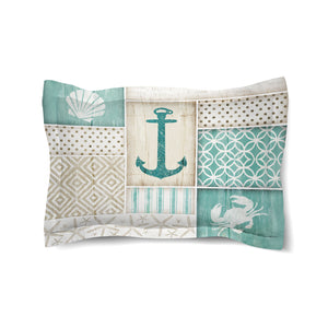 Coastal Retreat Comforter Sham