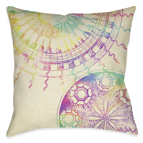 Coastal Patterns Indoor Decorative Pillow