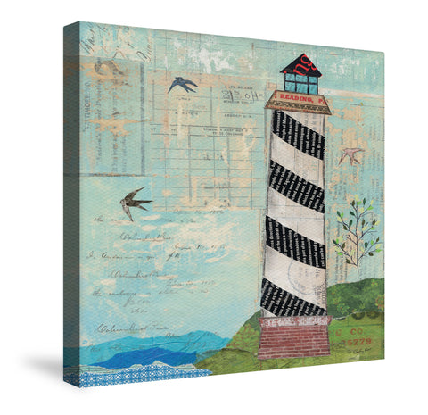 Coastal Lighthouse Canvas Wall Art