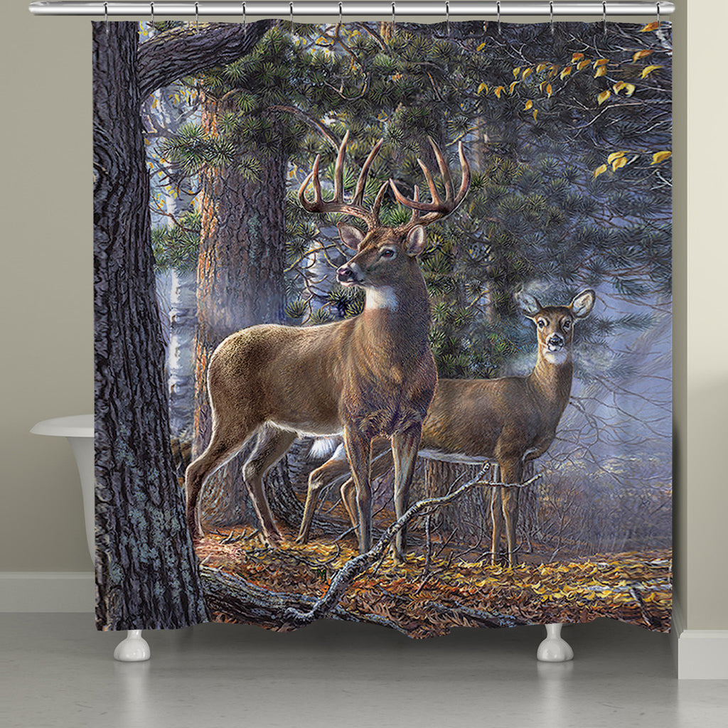 Deer Time Shower Curtain Laural Home