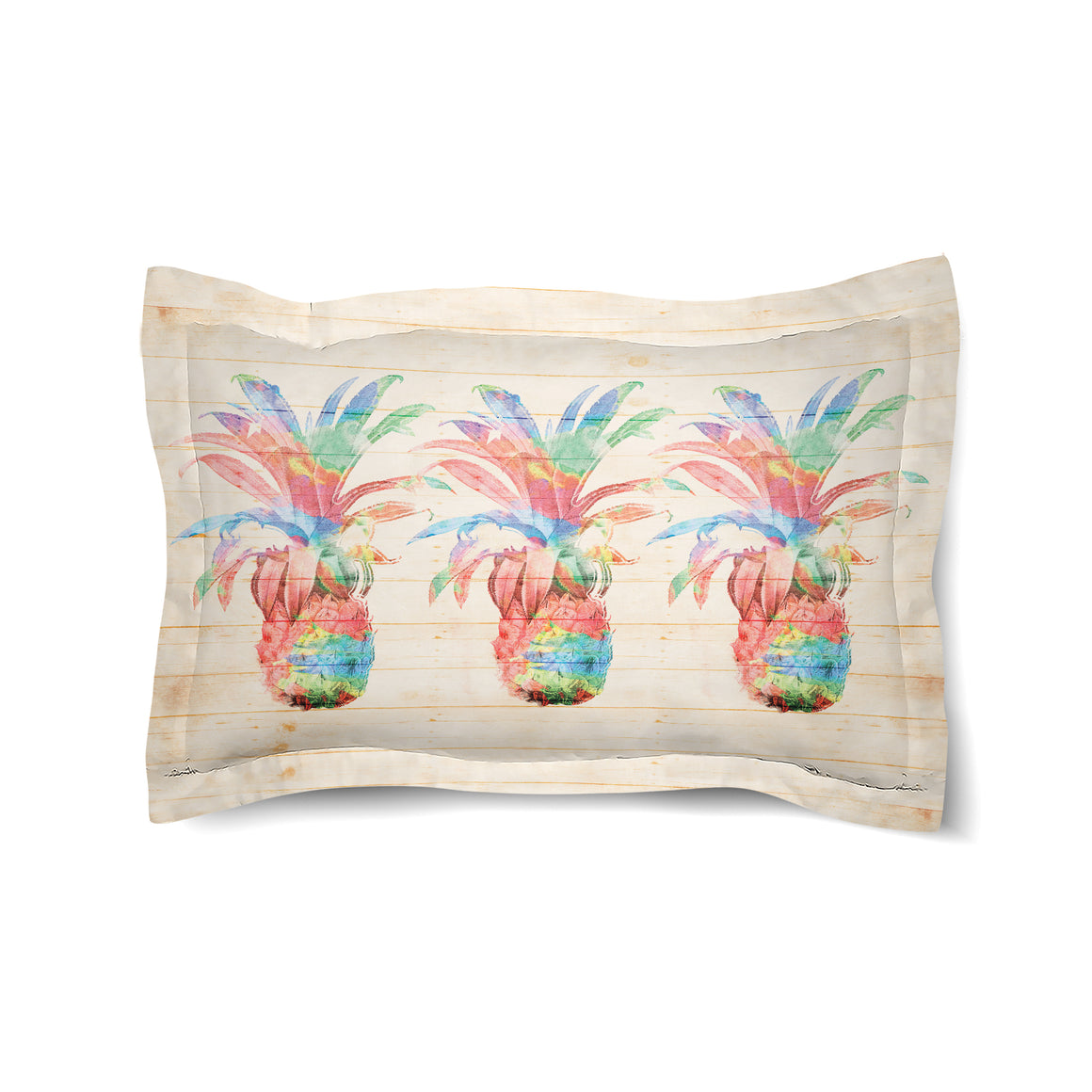 Colorful Pineapple Duvet Sham