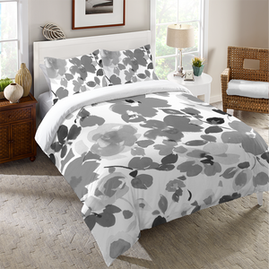 Contemporary Florals Duvet Cover