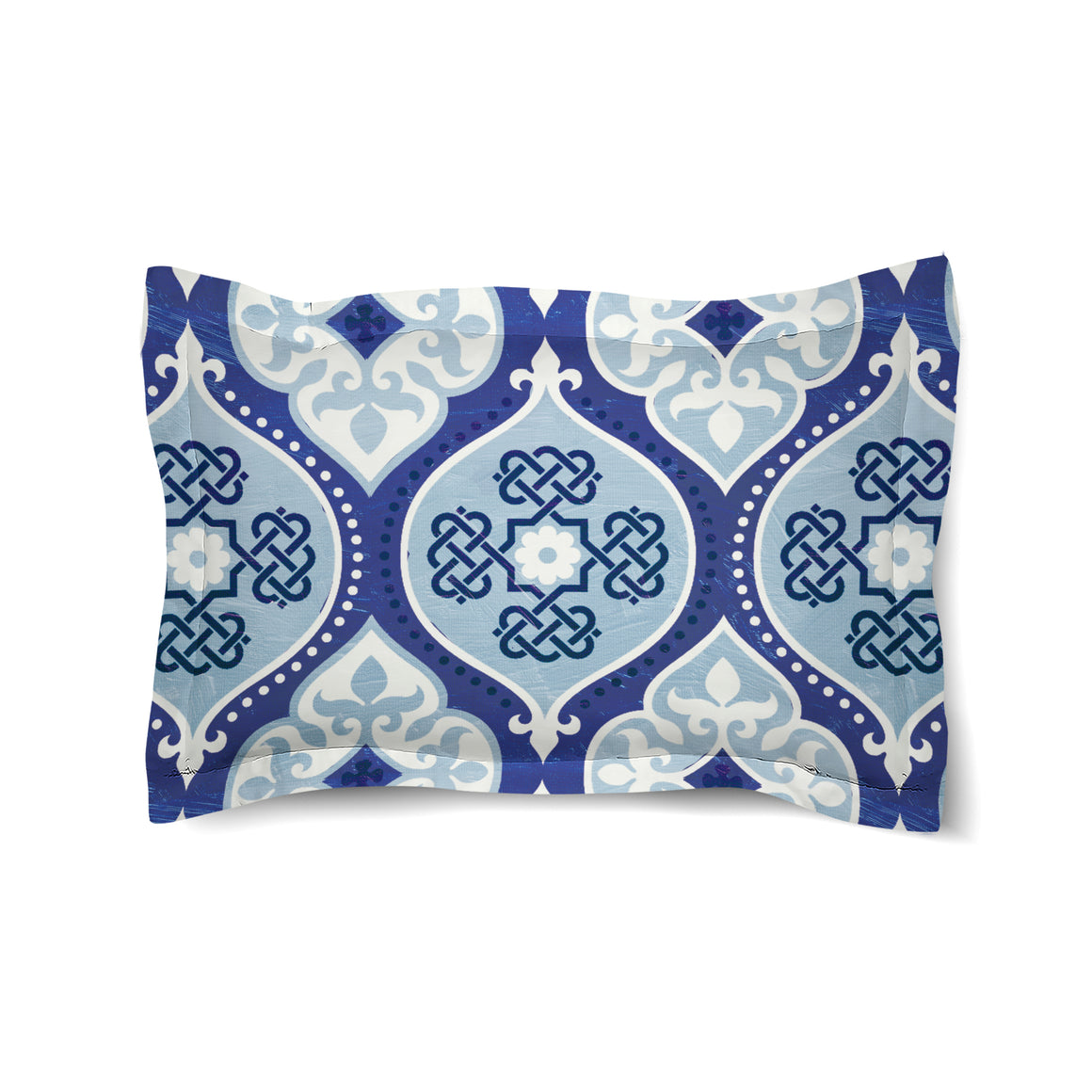 Cool Mood Indigo Duvet Sham