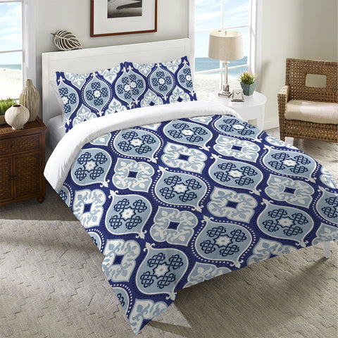 Cool Mood Indigo Duvet Cover