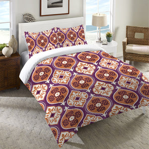 Cool Mood Raspberry Duvet Cover