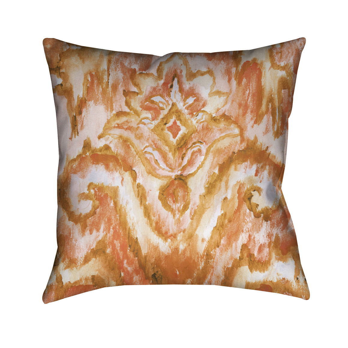 Coral Pattern Outdoor Decorative Pillow