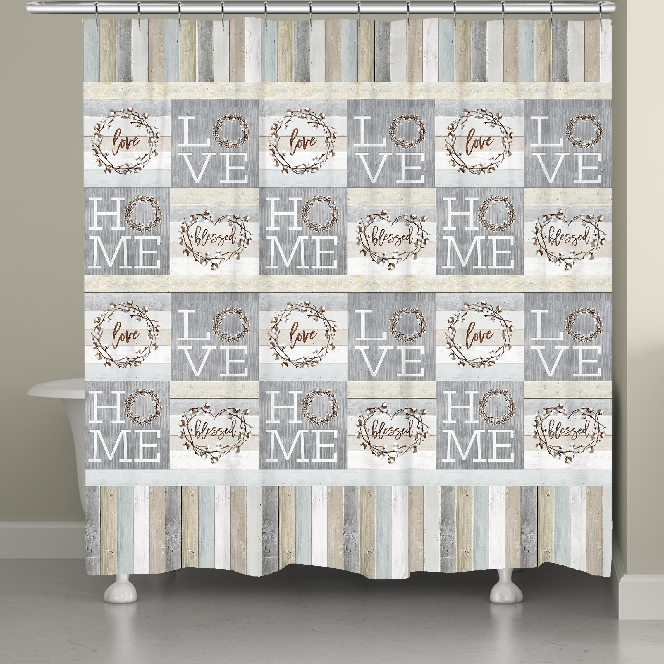 Loving Home Shower Curtain Laural Home