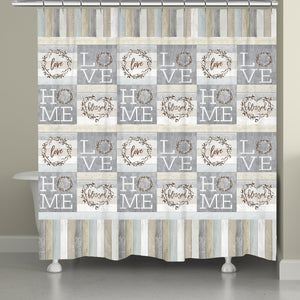 Loving Home Shower Curtain
