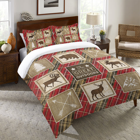 Country Cabin II Duvet Cover