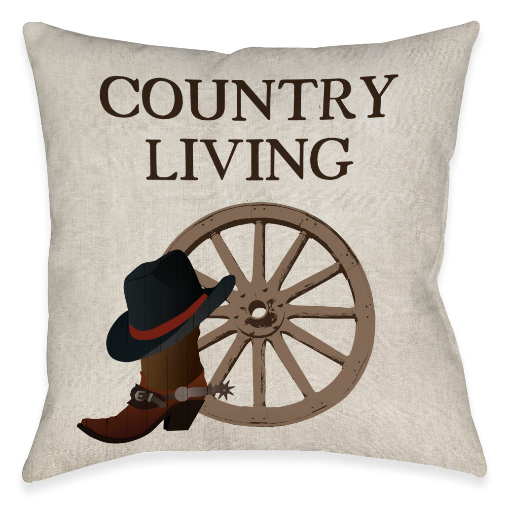 Country Living Indoor Decorative Pillow