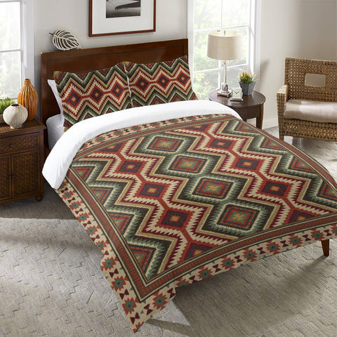 Country Mood Navajo II Duvet Cover