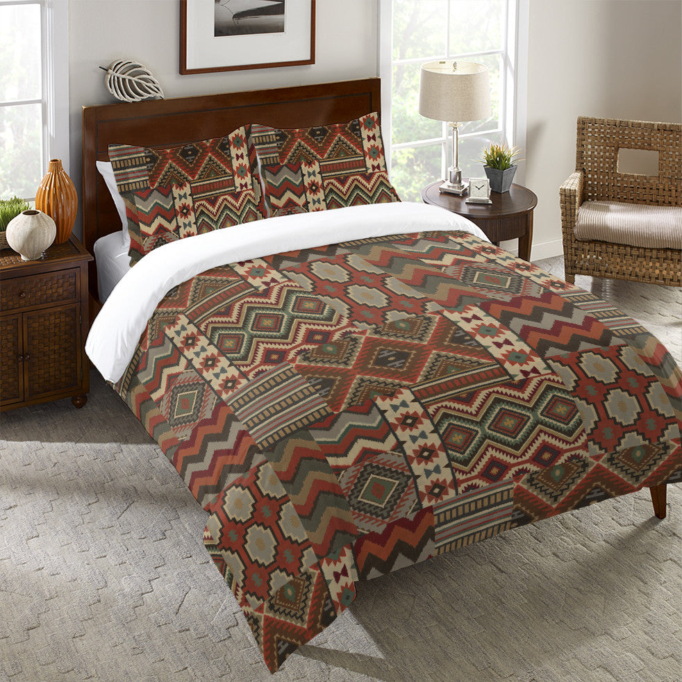 Country Mood Navajo Duvet Cover