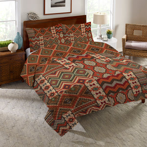 Country Mood Navajo Reversible Quilt Set