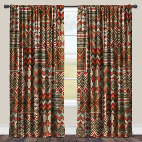 Country Mood Navajo Room Darkening Window Panel