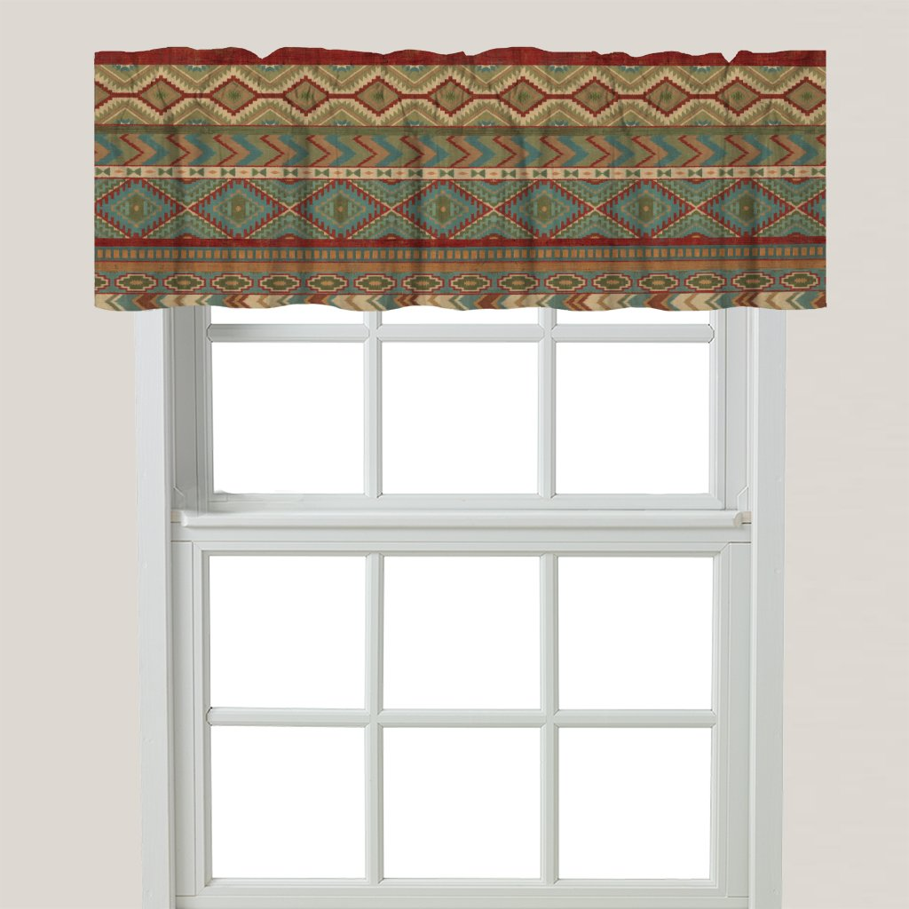 Country Mood Sage Window Valance