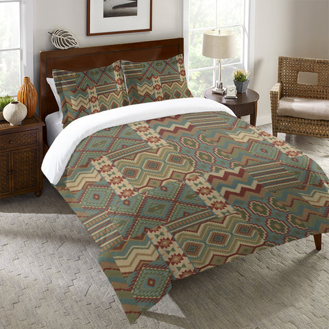 Country Mood Sage Duvet Cover