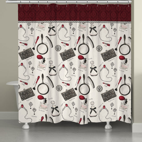 Couture Accessories Shower Curtain
