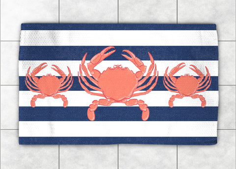 Crab Stripe Accent Rug