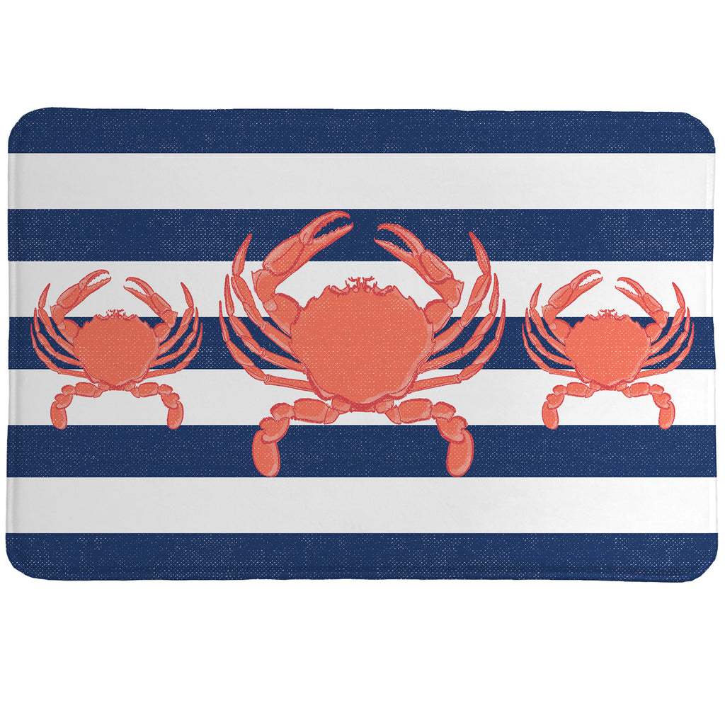 Crab Stripe Memory Foam Rug