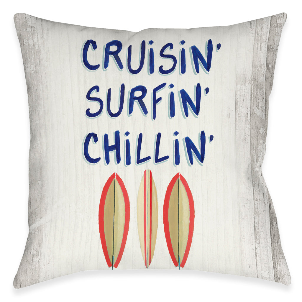 Cruisin' Outdoor Decorative Pillow