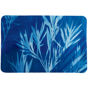 Cyanotype Winds Memory Foam Rug