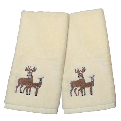 Deer Time Hand Towel Set