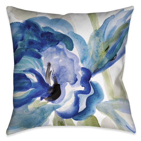 Delicate Blue Indoor Decorative Pillow