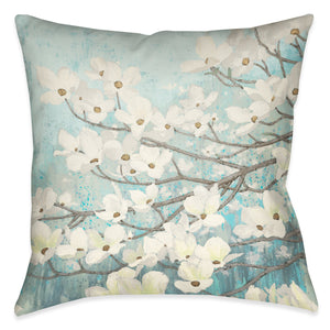 Dogwood Blossoms II Indoor Decorative Pillow