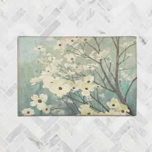Dogwood Blossoms Accent Rug