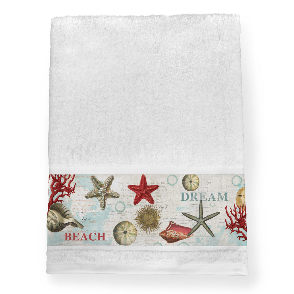 Dream Beach Shells Bath Towel
