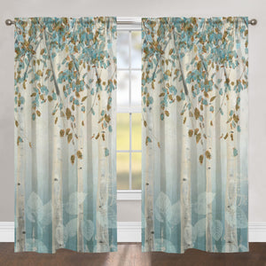 Dream Forest Sheer Window Panel