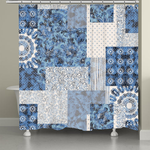 Dream Patch Shower Curtain