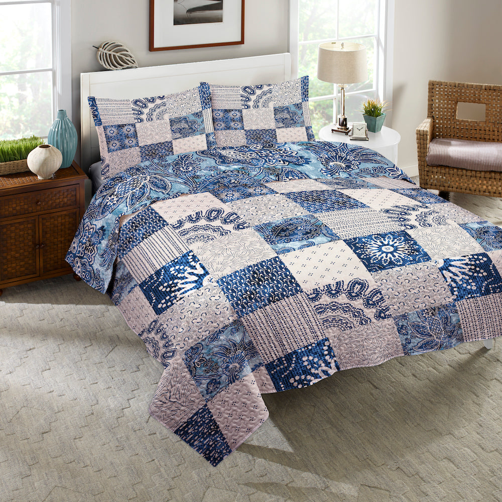 Dream Patch Reversible Quilt Set
