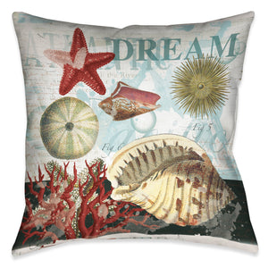 Dream Shells Indoor Decorative Pillow