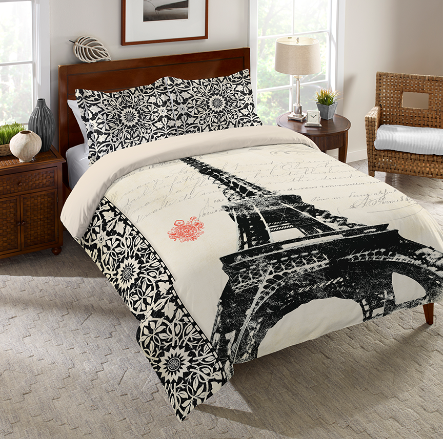 Eiffel Tower Comforter