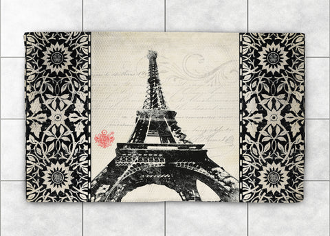 Eiffel Tower Accent Rug