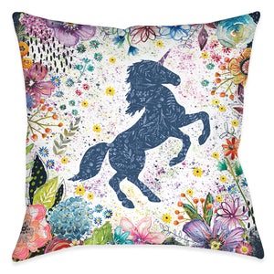 Enchanted Unicorn Indoor Decorative Pillow