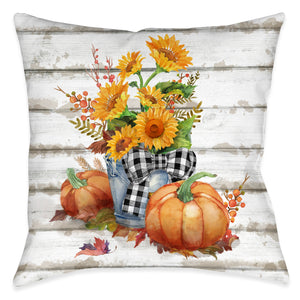 Essence Of Fall Indoor Decorative Pillow