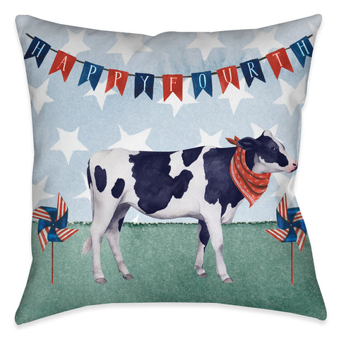 American Barn II Outdoor Decorative Pillow