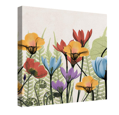 Flourishing Botanicals Canvas Wall Art