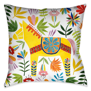 Fiesta Animal II Outdoor Decorative Pillow